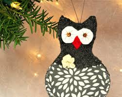 owl scandinavian owl decoration christmas owl ornaments felt owls