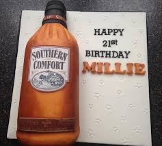 Southern Comfort Bottle Southern Comfort Cake By Donna Sanders Cakesdecor