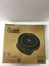 Nuwave Cooktop Manual Nuwave 30101 Precision Induction Cookware Cooktop Ebay