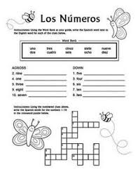 ideas of spanish numbers 1 10 coloring sheets also resume