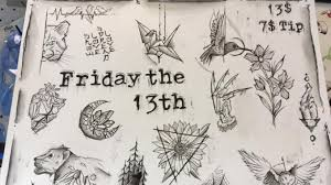 13 tattoos to celebrate this friday the 13th lindenlink