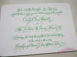 wedding invitations san antonio wedding invitations jennifer calligrapher