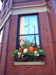 Lighted Window Box Christmas Decorations by Best 25 Fall Window Boxes Ideas On Pinterest Fall Flower Boxes