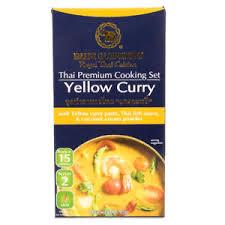 elephant cuisine cuisine premium cooking set yellow curry paste mild spicy