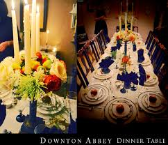 Downton Abbey Home Decor A Downton Abbey Dinner Party U2013 Pop U0026 Circumstance Guidebook For