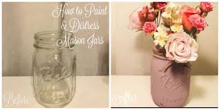 how to paint u0026 distress mason jars 5 steps with pictures