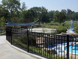 montage plus residential and commercial ornamental steel fence
