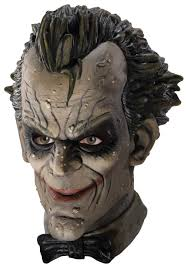 halloween city masks arkham city joker latex mask