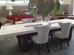 home design surprising stone dining tables cool round table room