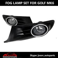 vw touareg fog light assembly auto fog lights set assembly for vw golf 6 mk6 with bumper grille
