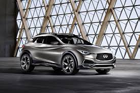 first drive 2017 infiniti qx30 2017 infiniti qx30 with rugged lux style set to woo young urbanites