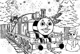 thomas train christmas coloring pages 16359 coloringbus