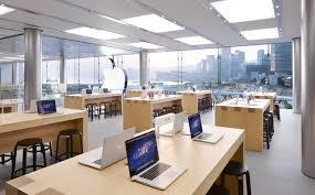 store bureau center apple retail store ifc mall applestore interiors