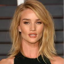 rosie huntington side parted lob 45 best lob images on pinterest make up looks short films and