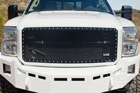 Ford F350 Truck Grills - 2011 2016 f250 350 smittybilt m1 wire mesh grille black 615831