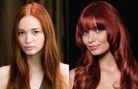 Frisuren Lange Haare Vorher Nachher by Rote Traumwellen Frisuren Mit Vorher Nachher Effekt Gofeminin