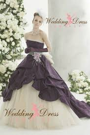 Purple Wedding Dress Colorful Wedding Dresses