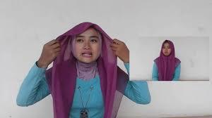 tutorial hijab segi empat paris simple tutorial hijab segi empat paris simple youtube