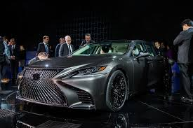 lexus christmas lexus drops the lc 500 u0027s hybrid system into the ls 500 adds an u0027h u0027