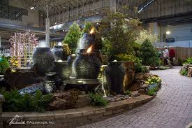 Aquascape Water Features Chicago Flower And Garden Show Pond Construction Pond