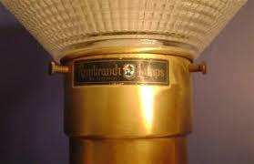 Vintage Brass Floor L Vintage Rembrandt Brass Table L Antique Appraisal