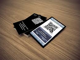 electronic business card card design ideas