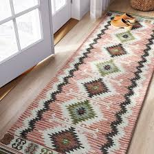 Aztec Runner Rug Threshold Split Aztec Rug Aztec Rug