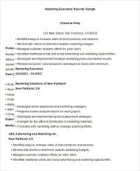 It Executive Resume Samples by Executive Resume Templates 28 Free Word Pdf Documents Download