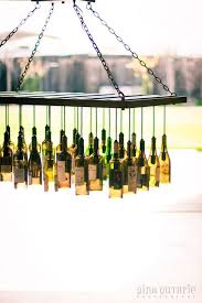 How To Make A Chandelier Out Of Beer Bottles Unique Chandeliers Made Out Of Recycled Wine Bottles