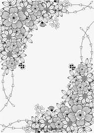 25 flower coloring pages ideas abstract