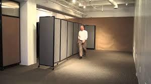 Versare Room Divider Wall Mounted Room Divider 360 Accordion Partition By Versare Youtube