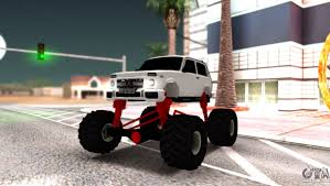 cars replacement monsters gta san andreas