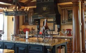 Pictures Of Black Kitchen Cabinets Black Kitchen Cabinets In Tuscan Kitchen Decor Tuscan Home 101
