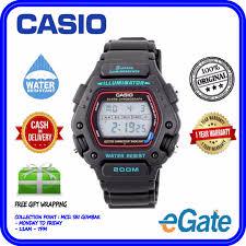 Jam Tangan Casio Dw 290 casio dw 290 1v diving digital sport jam tangan original
