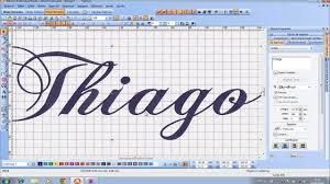 pe design adicionando letra ao wilcom ou pe design maquina de bordar