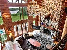 luxury log home interiors can a log cabin be luxurious yes realtor