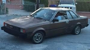 1982 toyota corolla for sale toyota corolla coupe 1982 brown for sale jt2te75s6c0737198 1982
