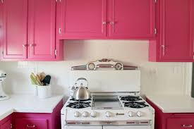 pink kitchen ideas pleasant pink kitchen cabinets top home decorating ideas with pink
