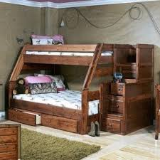 stairway bunk bed twin over full foter