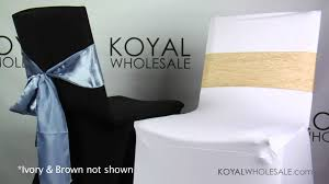 White Chair Covers Wholesale Spandex Chair Covers By Koyal Wholesale Wedding And Event Supplies