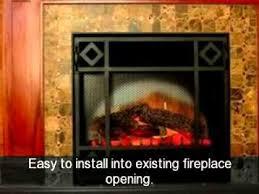 Dimplex Electric Fireplace Insert Dimplex Dfi2309 Electric Fireplace Insert Youtube