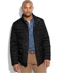 tommy hilfiger big and tall quilted four pocket field jacket in