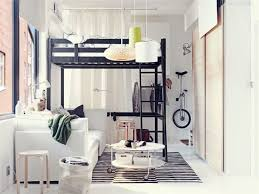 Cool Bedrooms With Bunk Beds Apartment Small Apartment Decor With Bunk Bed Idea And White