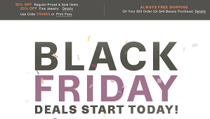 black friday jewelry sales get a head start on black friday 2015 with all the sales you can