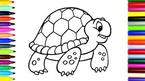 coloring pages turtle drawing pages to color for kids coloring