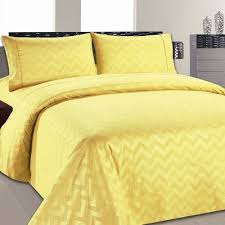 sweet home sheets home sweet home dreams chevron sheet set size queen color yellow