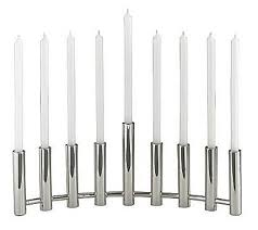 modern menorah column menorah from crate barrel the contemporary style