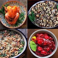 new thanksgiving dinner collage flipped out food