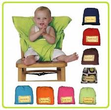 siege nomade bébé chaise bebe nomade 9 couleurs siege de voyage en tissu sack n
