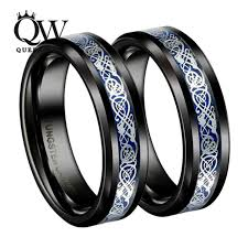 celtic wedding rings queenwish mens jewelry black slivering celtic knot tungsten